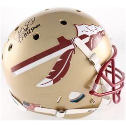 "Charlie Ward Signed Florida State Seminoles Full-Size Helmet Inscribed ""93 Heisman"" (Radtke COA)"