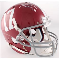 Kenyan Drake Signed Alabama Crimson Tide Full-Size Helmet (Radtke COA)