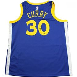 Stephen Curry Signed Warriors Jersey (Steiner COA)