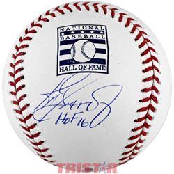 """Ken Griffey Jr. Signed Hall Of Fame Logo Baseball Inscribed """"HOF 16"""" (TriStar Hologram)"""
