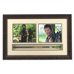 "Norman Reedus Signed ""Walking Dead"" 20x30 Custom Framed Arrow Display (Radtke COA)"