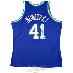 Dirk Nowitzki Signed Mavericks Jersey (Panini COA)