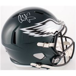 Alshon Jeffery Signed Eagles Full-Size Speed Helmet (Fanatics Hologram)