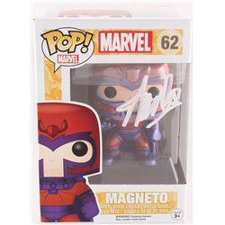 "Stan Lee Signed ""Magneto"" #62 Marvel Funko Pop Vinyl Figure (Radtke Hologram  Lee Hologram)"