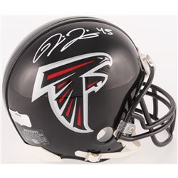 Deion Jones Signed Falcons Mini Helmet (Radtke COA)