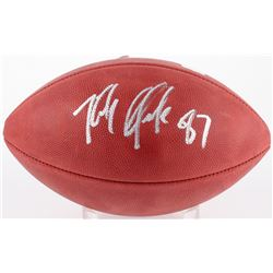 "Rob Gronkowski Signed Super Bowl LI ""The Duke"" Logo Football (Radtke COA)"