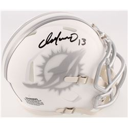 Dan Marino Signed Dolphins Speed ICE Mini Helmet (Radtke COA)