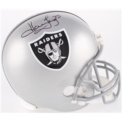 Howie Long Signed Raiders Full-Size Helmet (JSA COA)