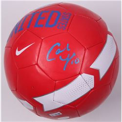 Carli Lloyd Signed Nike Team USA Soccer Ball (JSA COA)