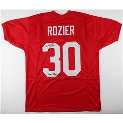 Mike Rozier Signed Nebraska Cornhuskers Jersey Inscribed  Heisman 1983  (JSA COA)