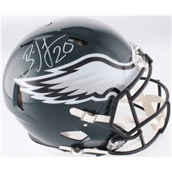 Brian Dawkins Signed Eagles Full-Size Authentic On-Field Speed Helmet (JSA COA)