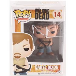Norman Reedus Signed  Daryl Dixon  #14 The Walking Dead Funko Pop Vinyl Figure (Radtke COA)