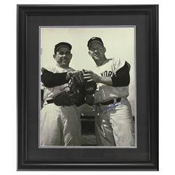 Whitey Ford Signed Yankees 23x27 Custom Framed Photo Display (Steiner Hologram)