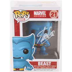"Stan Lee Signed ""Beast"" #21 Marvel Bobble-Head Funko Pop Vinyl Figure (Radtke COA)"