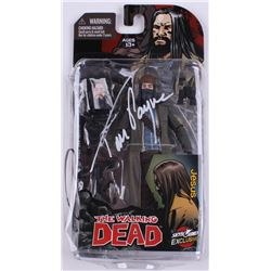 """Tom Payne Signed """"The Walking Dead"""" Action Figure (Radtke Hologram)"""