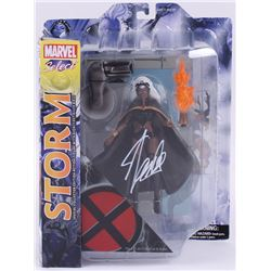 "Stan Lee Signed ""Storm"" Marvel Select Action Figure (Radtke COA  Lee Hologram)"