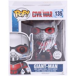 "Stan Lee Signed ""Giant-Man"" #135 Captain America: Civil War Marvel Funko Pop Vinyl Bobble-Head Figur"