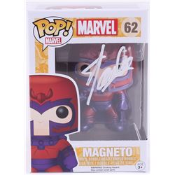 "Stan Lee Signed ""Magneto"" #62 Marvel Funko Pop! Bobble-Head Figure (Radtke COA  Lee Hologram)"