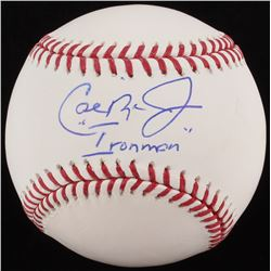 "Cal Ripken Jr. Signed OML Baseball Inscribed ""Ironman"" (MLB Hologram)"