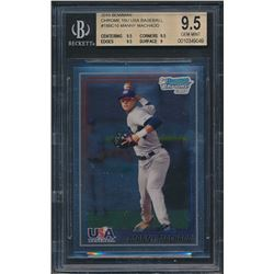 2010 Bowman Chrome 18U USA Baseball #18BC10 Manny Machado (BGS 9.5)