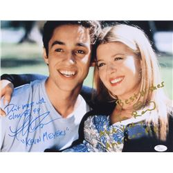"Thomas Ian Nicholas  Tara Reid Signed ""American Pie"" 11x14 Photo With Multiple Inscriptions (JSA COA"