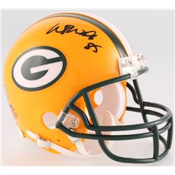 Wesley Walls Signed Packers Mini-Helmet (Radtke COA)