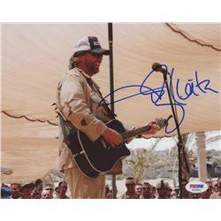 Toby Keith Signed 8x10 Photo (PSA COA)