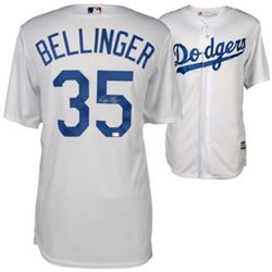 Cody Bellinger Signed Dodgers Majestic Jersey (MLB Hologram  Fanatics Hologram)