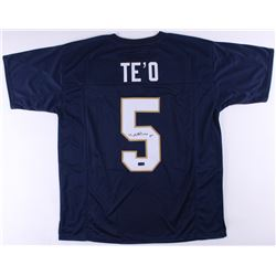 Manti Te'o Signed Notre Dame Fighting Irish Jersey (Radtke COA)