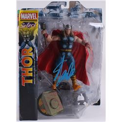 "Stan Lee Signed ""Thor"" Marvel Select Action Figure (Radtke COA  Lee Hologram)"