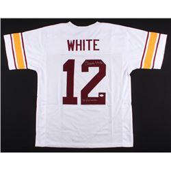 "Charles White Signed USC Trojans Jersey Inscribed ""'79 Heisman"" (JSA COA)"