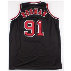 Dennis Rodman Signed Bulls Jersey (JSA COA)