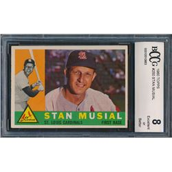 1960 Topps #250 Stan Musial (BCCG 8)