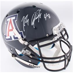Rob Gronkowski Signed Arizona Wildcats Authentic On-Field Full-Size Helmet (Radtke COA)
