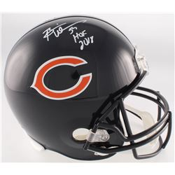 "Brian Urlacher Signed Bears Full-Size Helmet Inscribed ""HOF 2018"" (Radtke COA)"