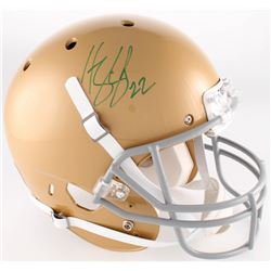 Harrison Smith Signed Notre Dame Fighting Irish Full-Size Helmet (Radtke COA)