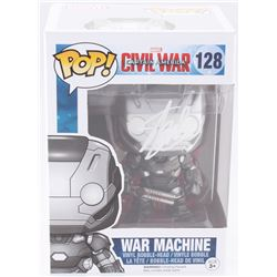 "Stan Lee Signed ""War Machine"" #128 Captain America: Civil War Marvel Funko Pop Bobble-Head Vinyl Fig"