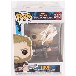 "Stan Lee Signed ""Thor: Ragnarok"" Funko Pop Vinyl Figure (Radtke COA  Lee Hologram)"