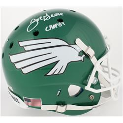 "Joe Greene Signed North Texas Mean Green Full Size Helmet Inscribed ""HOF 87"" (Radtke COA)"