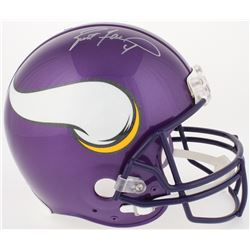 Brett Favre Signed Vikings Full-Size Authentic On-Field Helmet (Favre COA)