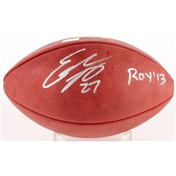 "Eddie Lacy Signed Official NFL Game Ball Inscribed ""ROY '13"" (Radtke Hologram)"