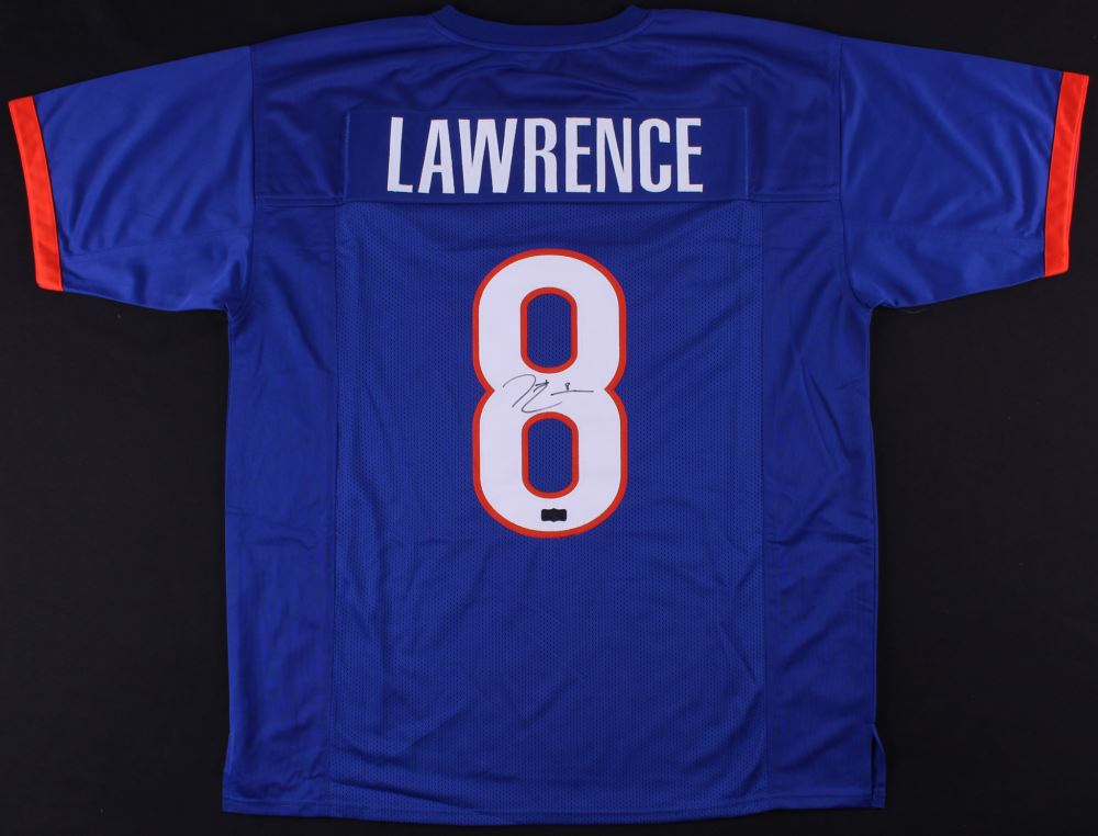 reputable site 6b636 93730 Demarcus Lawrence Signed Boise State Broncos Jersey ...