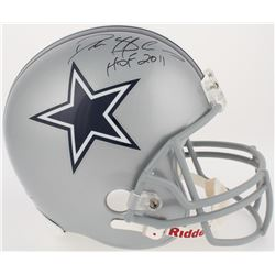 "Deion Sanders Signed Cowboys Throwback Full-Size Helmet Inscribed ""HOF 2011"" (Radtke COA)"