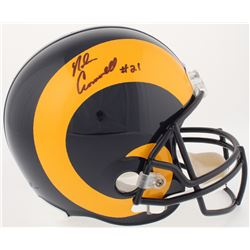 Nolan Cromwell Signed Rams Full-Size Throwback Helmet (Radtke COA)