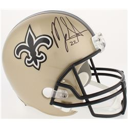 Mark Ingram Signed Saints Full-Size Helmet (Radtke COA)