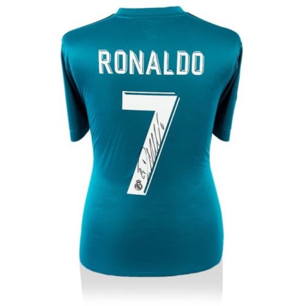 best sneakers ce9f2 c1fab Cristiano Ronaldo Signed Real Madrid Shirt (Icon Sports COA)