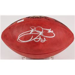 Emmit Smith Signed Official Super Bowl XXXVII Logo Football (Radtke COA  Smith Hologram)