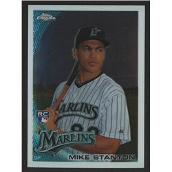 2010 Topps Chrome #190 Mike Stanton RC