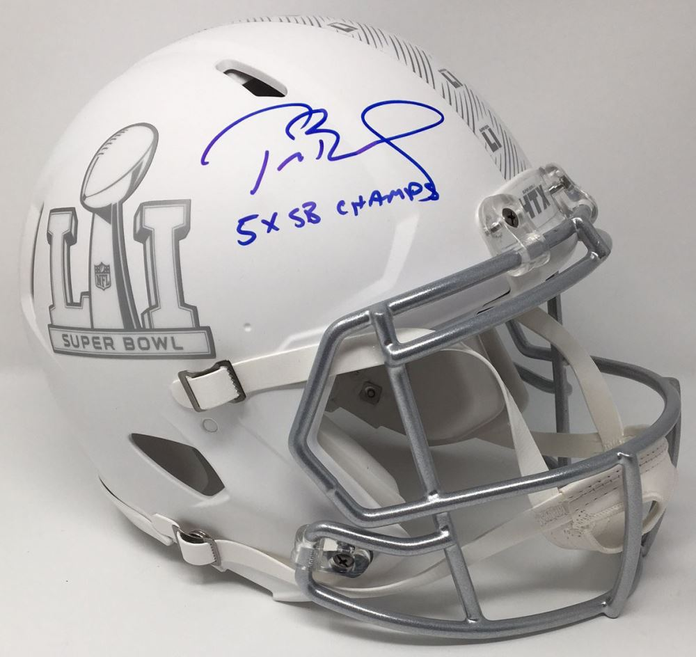 Tom Brady Signed Super Bowl 51 Limited Edition Custom