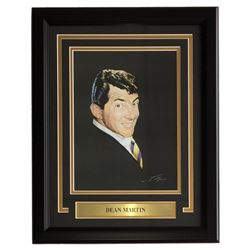 Dean Martin 16x20 Custom Framed Print Display